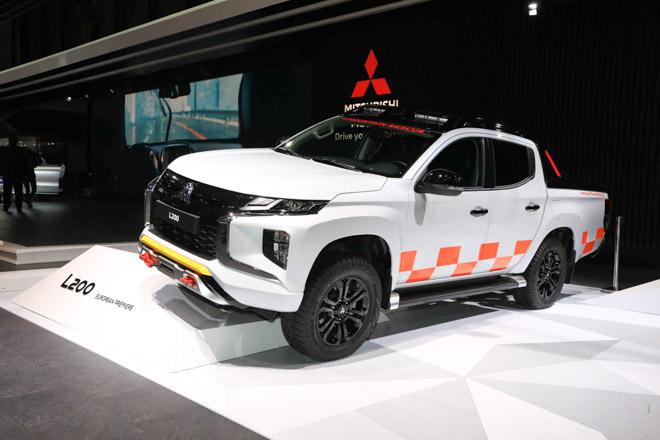 """Mitsubishi trưng bày Triton 2019 phiên bản cứu hộ """"Mountain Rescue"""" tại GMS 2019 - 1"""