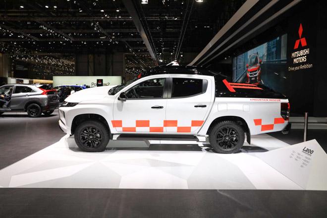 """Mitsubishi trưng bày Triton 2019 phiên bản cứu hộ """"Mountain Rescue"""" tại GMS 2019 - 3"""