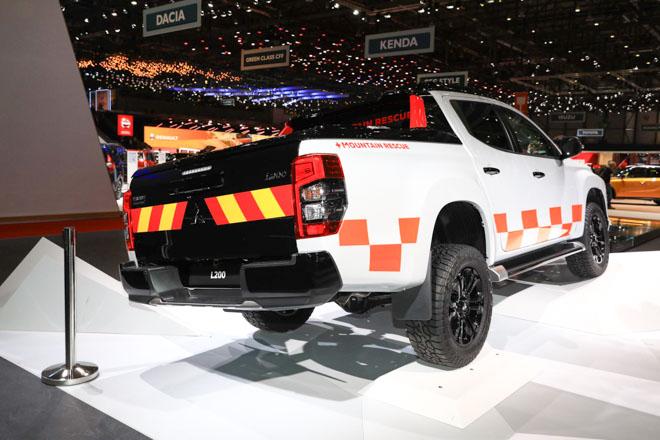 """Mitsubishi trưng bày Triton 2019 phiên bản cứu hộ """"Mountain Rescue"""" tại GMS 2019 - 4"""