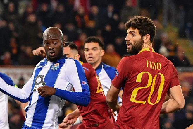 Vòng 1/8 cúp C1 Porto - Roma: Nghẹt thở hiệp phụ, penalty định đoạt