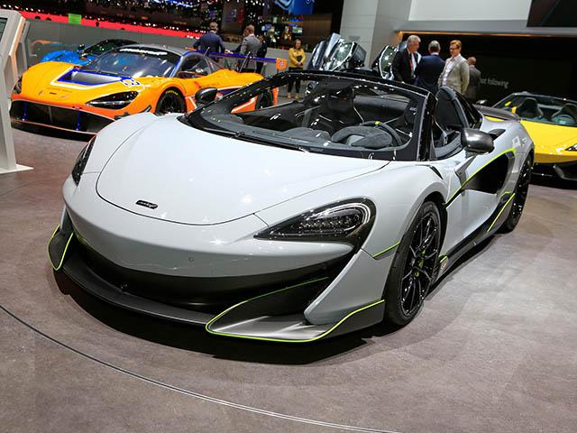 Diện kiến siêu xe McLaren 600LT Spider, nhanh và mạnh nhất dòng SuperSeries