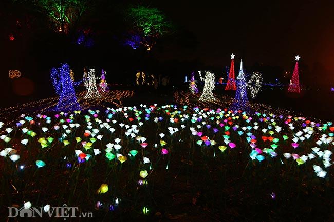 """Hình ảnh """"khu vườn ánh sáng"""" ở Hà Nội hút đông bạn trẻ đến check-in - 11"""