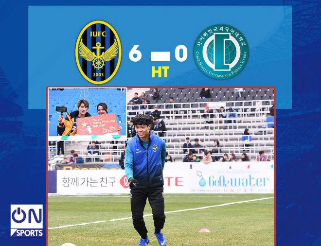 Công Phượng tỏa sáng: Ghi 2 bàn trong 20 phút, Incheon mừng ra mắt K-League - 2