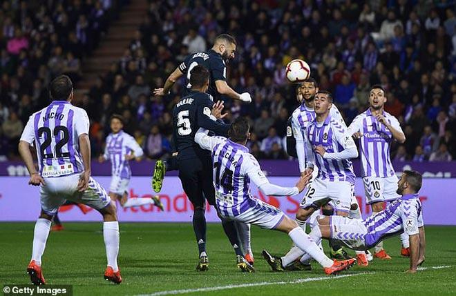Real Valladolid - Real Madrid: Kịch bản điên rồ 5 bàn mãn nhãn - 1