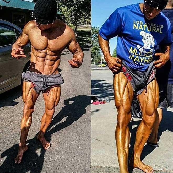 """Siêu VĐV thể hình chỉ có 3% mỡ: """"Đồng nhân"""" cơ bắp cuồn cuộn như sắt đá - 2"""