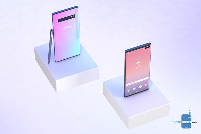 Galaxy Note 10 siêu đẹp xuất hiện, thách thức iPhone 11 - 7