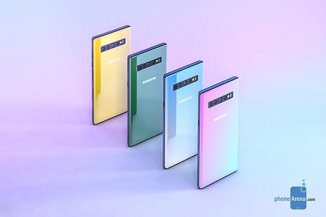 Galaxy Note 10 siêu đẹp xuất hiện, thách thức iPhone 11 - 3