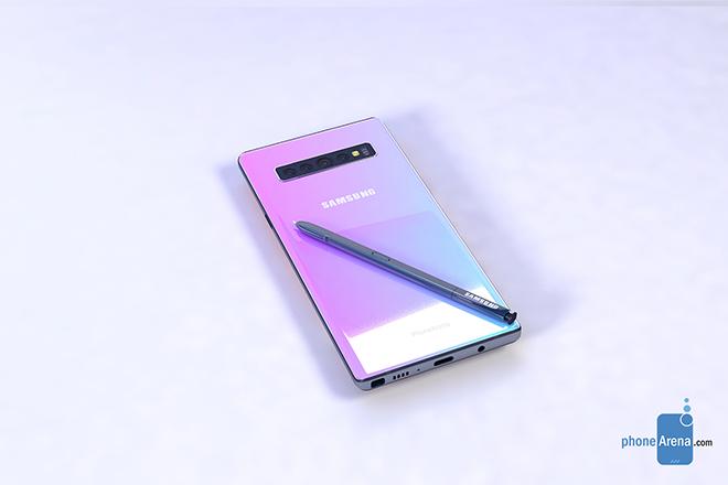 Galaxy Note 10 siêu đẹp xuất hiện, thách thức iPhone 11 - 8