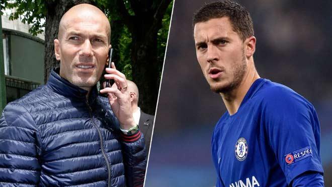 """Chấn động Real: Zidane xây đội hình 1 tỷ euro, Hazard """"bom tấn"""" đầu tiên - 1"""