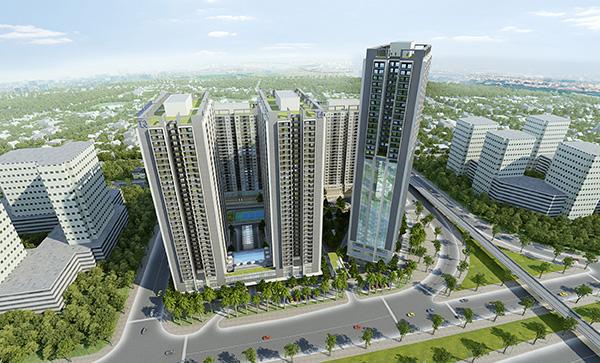 Chính thức mở bán dự án phân khúc tầm trung Thăng Long Capital Premium - 1