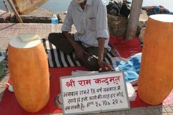 """Loại củ kỳ lạ to như khúc gỗ được bán ngập tràn và cực """"đắt hàng"""" trên đường phố Ấn Độ - 4"""