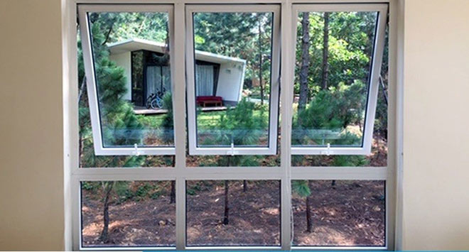 Tổng hợp những mẫu cửa nhựa lõi thép cho nhà đẹp thêm sang - 3
