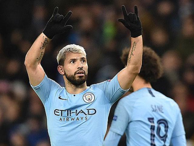 """Man City """"lá cờ đầu"""" Ngoại hạng Anh ở Cúp C1: Những con số choáng ngợp"""
