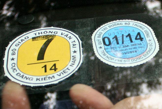 Mất chứng nhận và tem đăng kiểm, ôtô bị xử phạt như thế nào? - 3