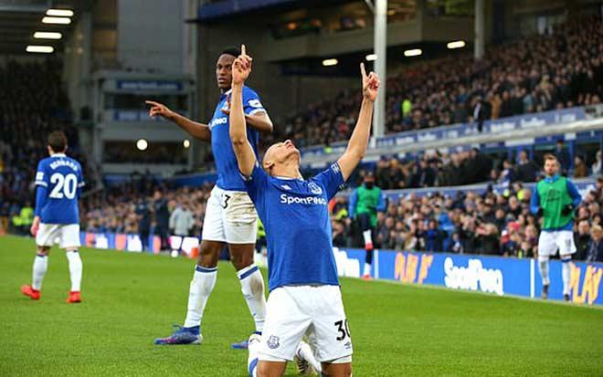 """Everton - Chelsea: Choáng váng """"cú đấm"""" đầu hiệp 2 - 2"""