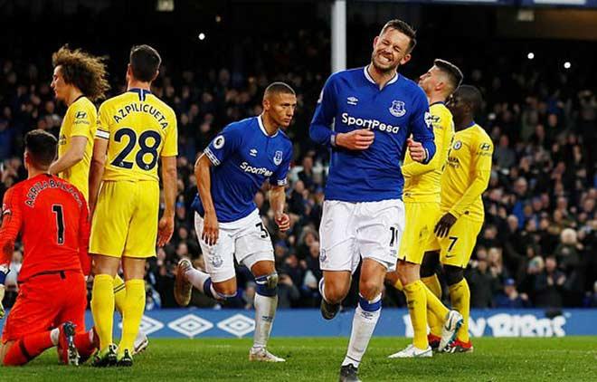 """Everton - Chelsea: Choáng váng """"cú đấm"""" đầu hiệp 2 - 3"""