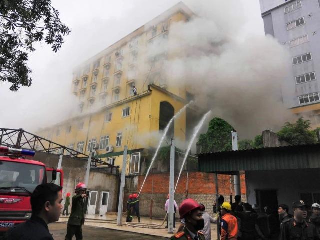 Cháy tổ hợp khách sạn Avatar: Lời kể của nhân chứng