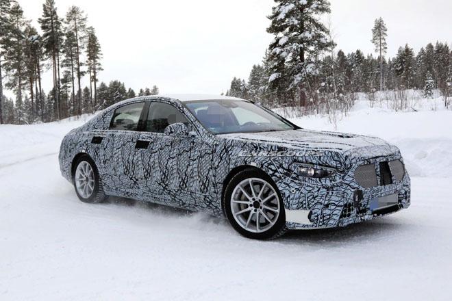 Lộ ảnh đồ hoạ của Mercedes-Benz S-Class thế hệ mới - 8