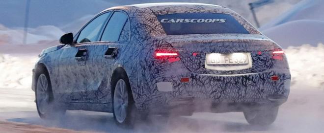 Lộ ảnh đồ hoạ của Mercedes-Benz S-Class thế hệ mới - 3