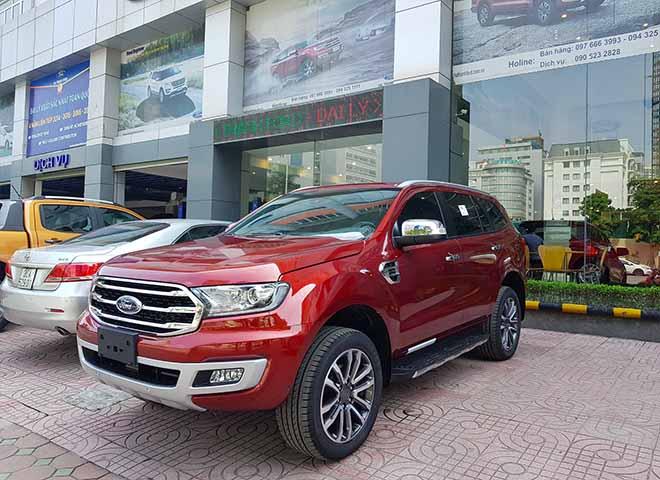 Giá lăn bánh xe Ford Everest 2019 mới nhất - Ford Everest Trend chỉ từ 999 triệu đồng - 8