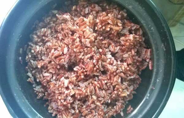 Hướng dẫn làm cơm tấm sườn bì bằng gạo lứt - 2