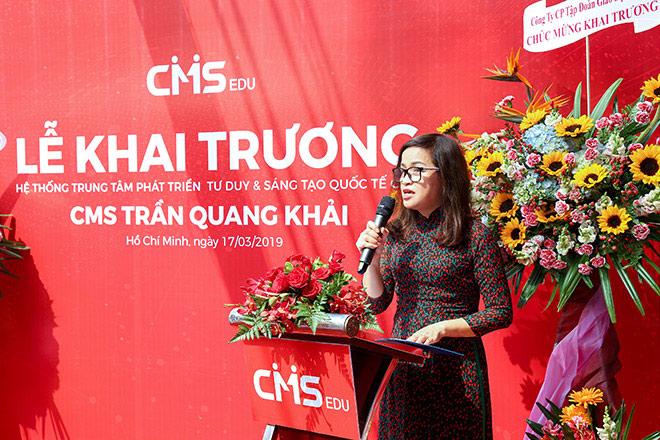 Phụ huynh Sài Gòn hào hứng tới lễ khai trương Trung tâm CMS mới - 2