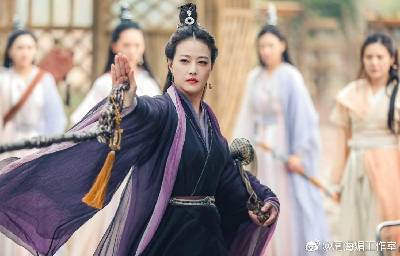 Châu Hải My bất chấp tuổi tác, quay về làm Chu Chỉ Nhược của Ỷ Thiên Đồ Long ký - 1