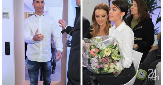 Ronaldo không lo án phạt cúp C1, vẫn cùng bạn gái đẹp như hoa về Madrid