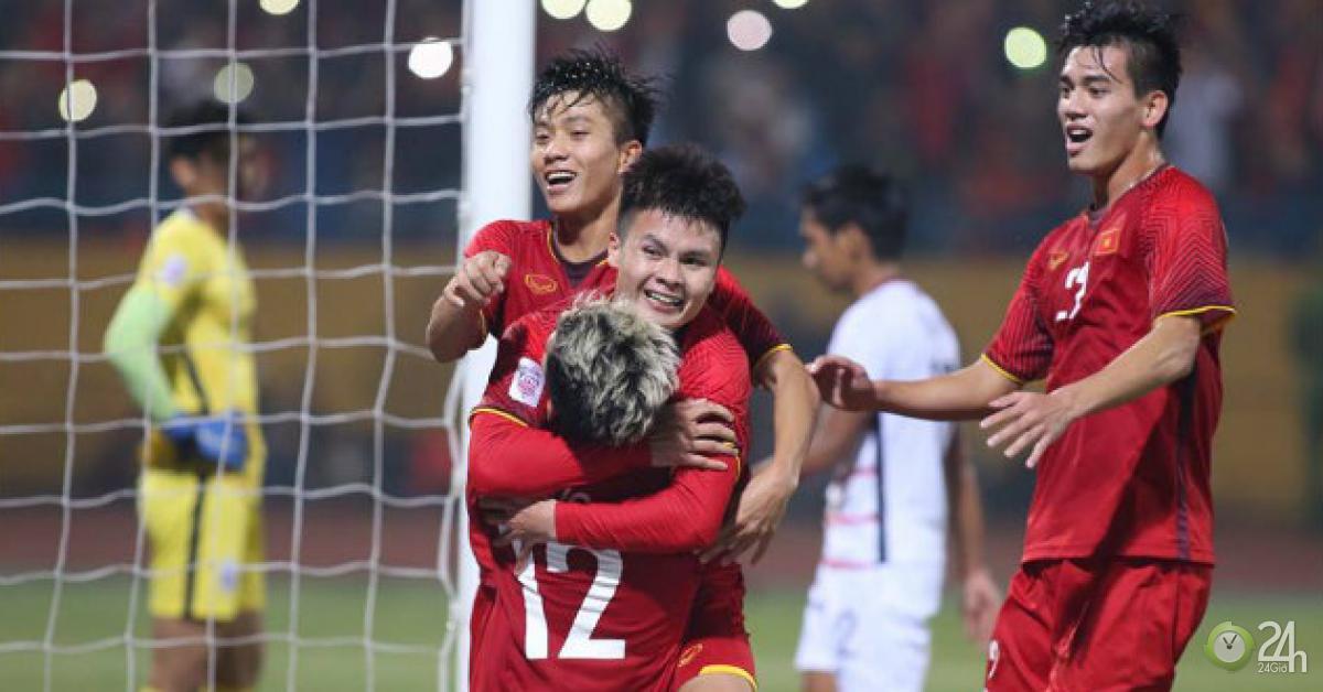 Bảng xếp hạng bóng đá U23 Việt Nam vòng loại U23 châu Á 2020