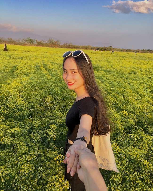 """Check-in liền tay có ngay ảnh đẹp tại """"cánh đồng hoa thì là"""" Ninh Thuận - 2"""