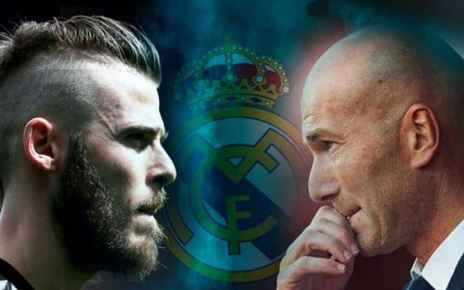 """MU giữ chân De Gea: Có """"át chủ bài"""", chẳng ngại Real - Zidane - 1"""