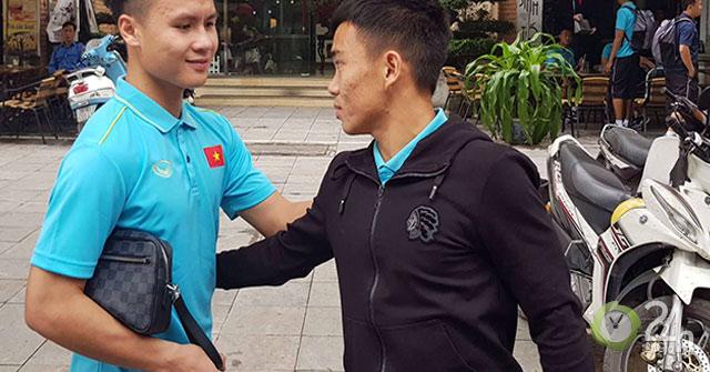 U23 Việt Nam: Thủ quân Quang Hải động viên đàn em Công Phượng