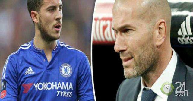 Siêu bom tấn Real: Hazard mê Zidane, nóng lòng đào tẩu Chelsea