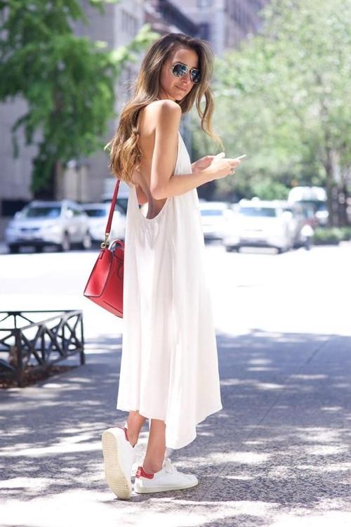 Xuân hè cứ diện váy ngủ ra đường là mát, nhưng nên mặc thế nào? - 4