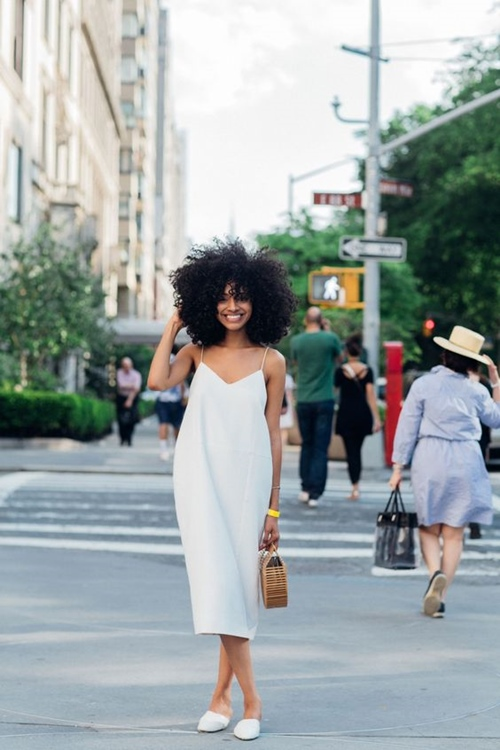 Xuân hè cứ diện váy ngủ ra đường là mát, nhưng nên mặc thế nào? - 9