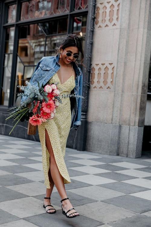 Xuân hè cứ diện váy ngủ ra đường là mát, nhưng nên mặc thế nào? - 8