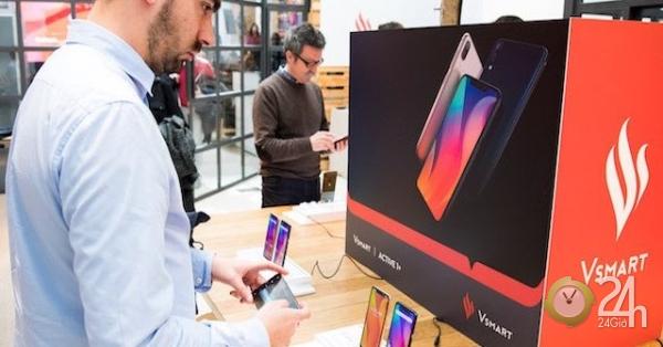 HOT: Điện thoại Vsmart của tỉ phú Phạm Nhật Vượng ra mắt tại Tây Ban Nha