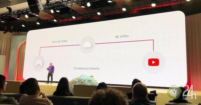 Google giới thiệu game đám mây: Chơi game nhanh như xem video YouTube