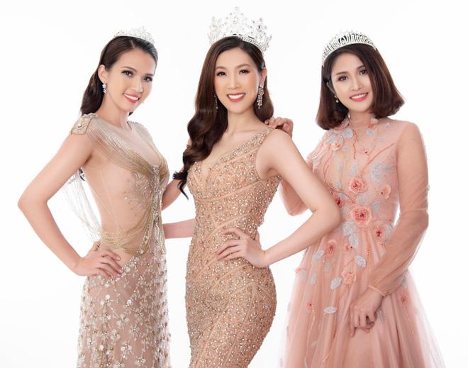 Hoa hậu Áo dài đọ sắc vợ cũ Phan Thanh Bình với váy màu nude - 2