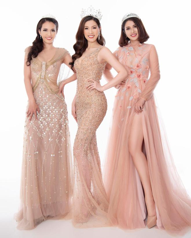 Hoa hậu Áo dài đọ sắc vợ cũ Phan Thanh Bình với váy màu nude - 1