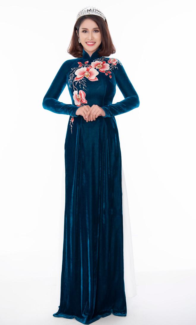 Hoa hậu Áo dài đọ sắc vợ cũ Phan Thanh Bình với váy màu nude - 7