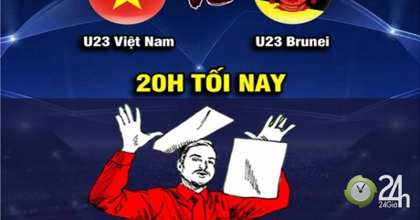 Dân mạng chế ảnh cổ vũ U23 Việt Nam đấu U23 Brunei