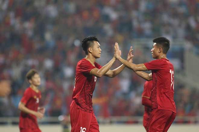 U23 Việt Nam - U23 Brunei: Đại thắng set tennis, đoạt ngôi đầu bảng - 2