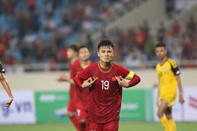 U23 Việt Nam - U23 Brunei: Đại thắng set tennis, đoạt ngôi đầu bảng - 4