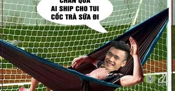 Ảnh chế màn thể hiện mờ nhạt của Bùi Tiến Dũng trước U23 Brunei