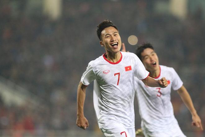 U23 Việt Nam - U23 Indonesia: Vỡ òa phút bù giờ, đàn em Công Phượng rực sáng - 1