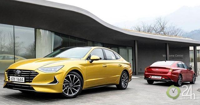 Ảnh thực tế Hyundai Sonata 2020 thế hệ mới tại Hàn Quốc