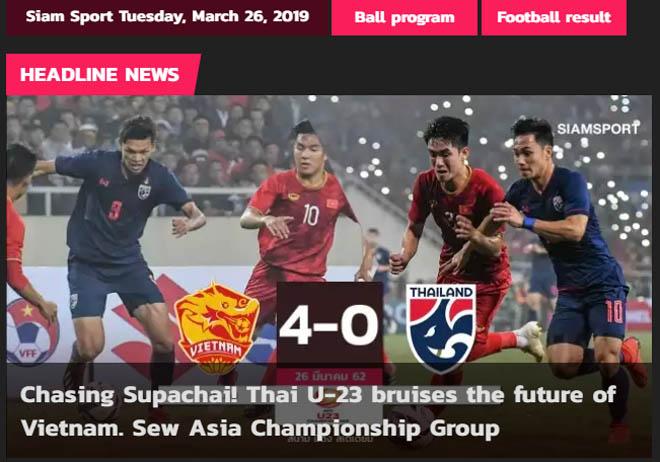 """U23 Việt Nam """"hủy diệt"""" Thái Lan 4-0: Báo châu Á ngả mũ kỳ tích lịch sử - 3"""