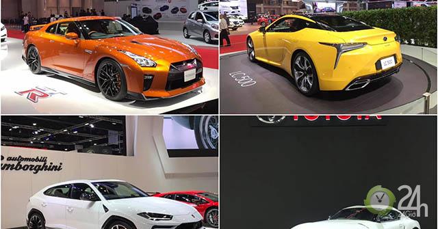 Triển lãm ôtô lớn nhất Đông Nam Á chính thức khai mạc với sự tham gia của loạt xe khủng