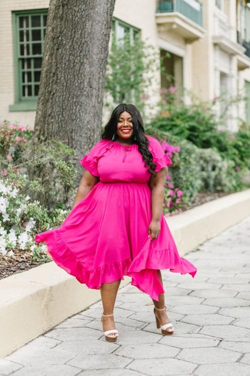 5 bí quyết thời trang sống còn cho nàng béo - 1